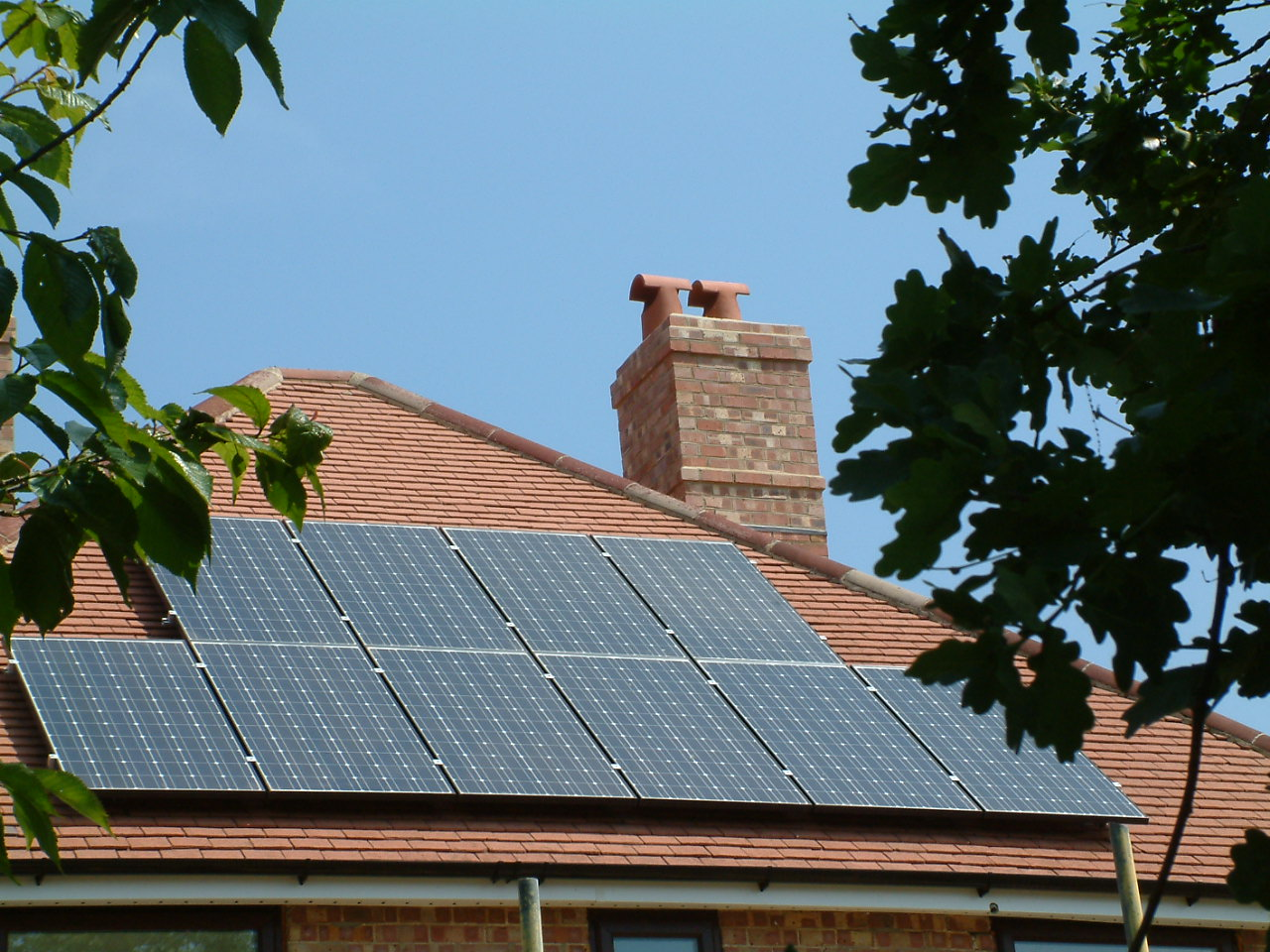 solar panels - green with pride